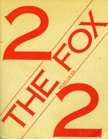 The Fox, no. 2 (1975). Cover.