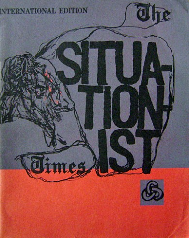 The Situationist times, cover.