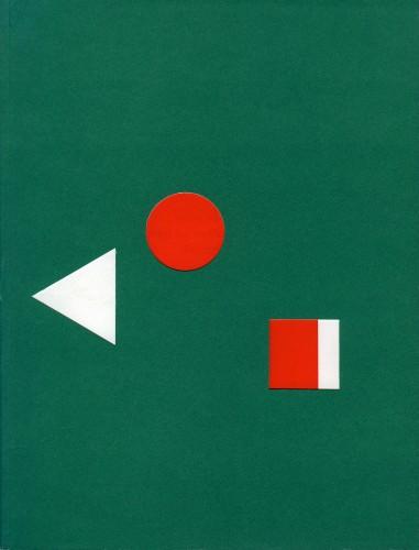 Cahier no. 2, Daniel Buren cover.