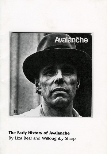 Avalanche, 1970-1976. CHELSEA space, London.  Exhibition brochure.